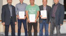 Ralf Weber vom Verband geehrt !!!