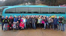 Ski-Ausfahrt wieder bestens organisiert !