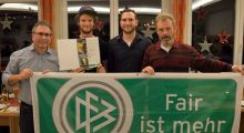 Überraschung bei VfB-Weihnachtsfeier